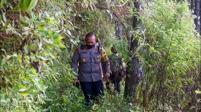 Kapolres Semarang AKBP Gatot Hendro Patroli Hutan Sumowono, Pastikan Tak Ada Karhutla Pas Kemarau