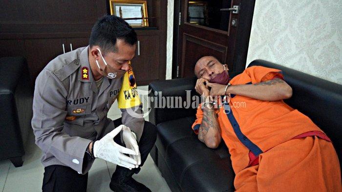 Pembunuh Ibu Kandung di Kebumen Menangis Sesenggukan Kena Terapi Hipnotis AKBP Rudy Cahya
