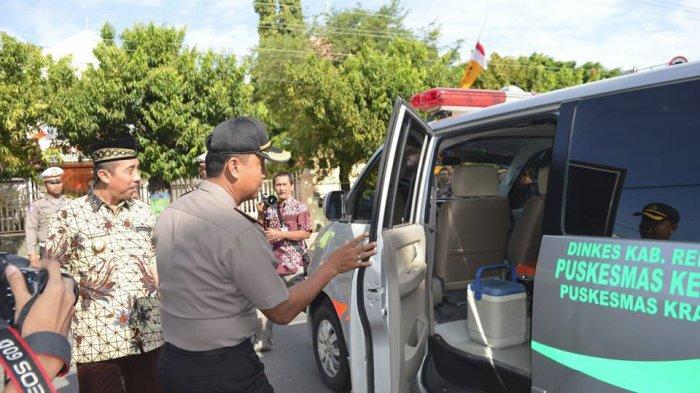 Setahun 131 Orang Meninggal di Jalan, Rembang Gelar Apel Bersama Quick Respon Ambulance