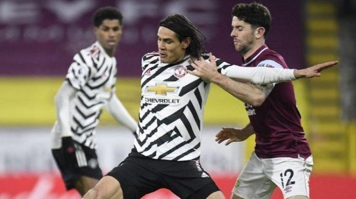 Cavani Digdaya, Babak Pertama AS Roma vs  Manchester United Agregat Jadi 7-2