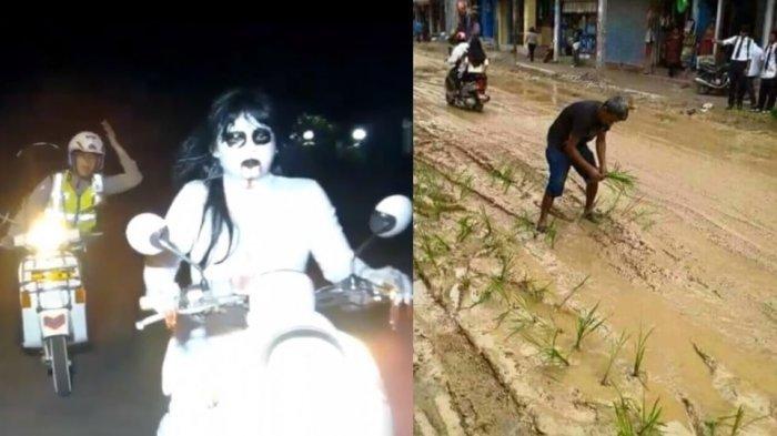 HANYA INDONESIA! 10 Momen Aksi Kocak Warga yang Terekam Kamera Bikin Ketawa Guling-guling