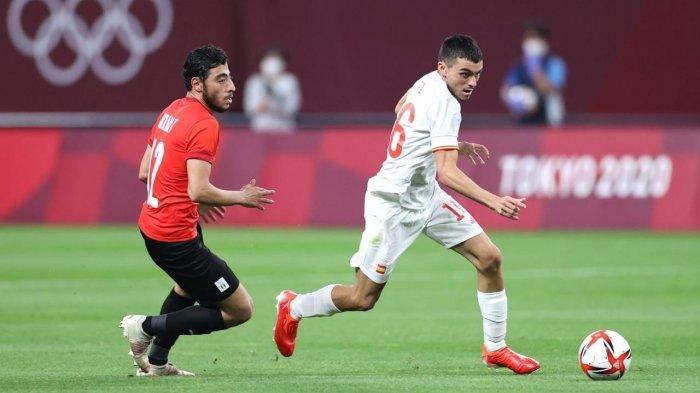 Hasil Sepakbola Putra Olimpiade 2020: Duel Pembuka Mesir vs Spanyol Berakhir Imbang 0-0