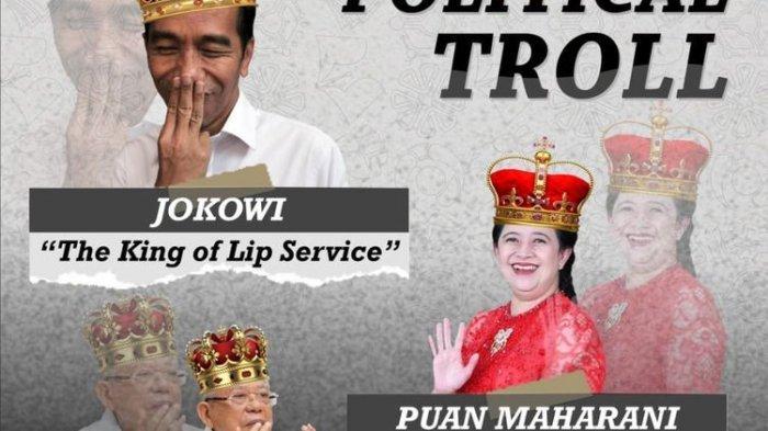 Setelah Posting Ma'ruf Amin King of Silent dan Puan Queen of Ghosting, Akun IG BEM KM Unnes Hilang