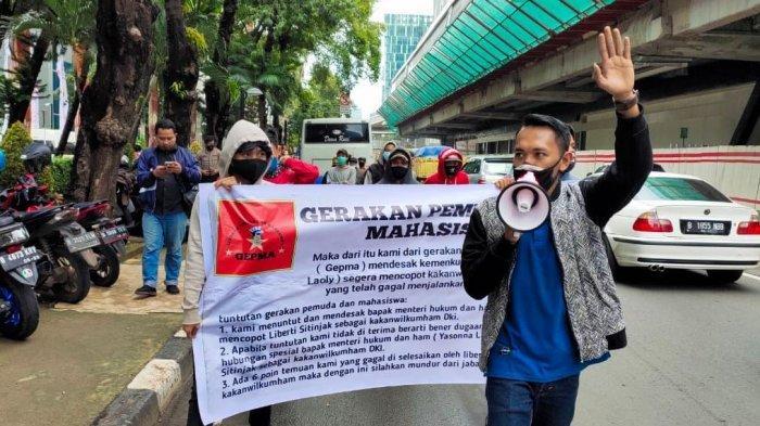 Sejumlah Pihak Desak Menkumham Copot Kakanwil Kemenkumham DKI Jakarta Liberty Sitinjak