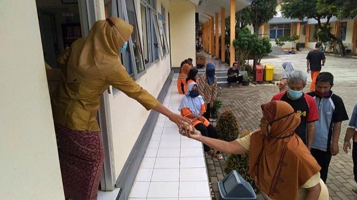 Aktivitas di panti sosial Pamardi Raharjo, Bawang, Banjarnegara