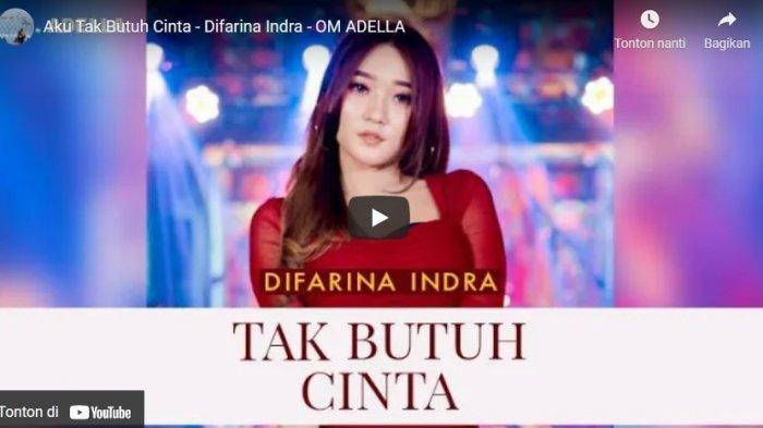 Chord Kunci Gitar Aku Tak Butuh CintaDifarina Indra feat OM ADELLA