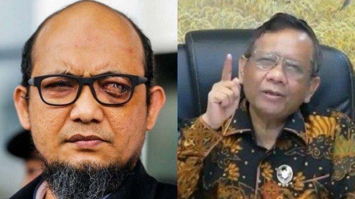 Akui Dukung KPK, Mahfud MD Beberkan Kedekatannya dengan Novel Baswedan