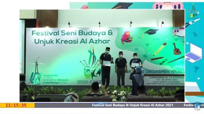 Siswa Al Azhar Kalibanteng Juarai Festival Seni Budaya dan Unjuk Kreasi 2021 se-Indonesia