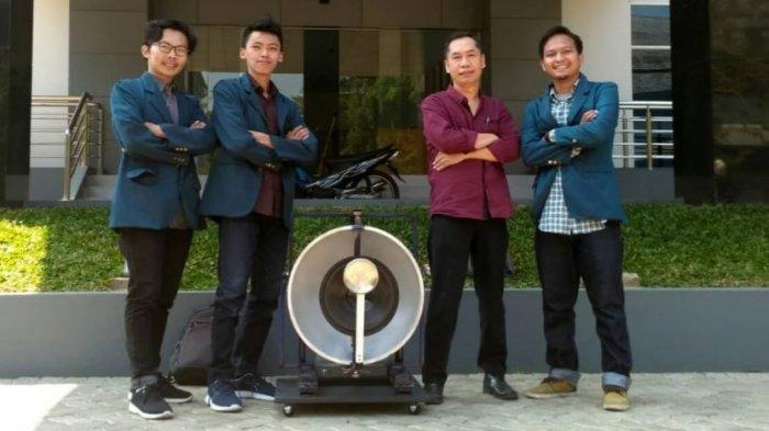 Briliant! Mahasiswa Undip Ciptakan Alat Pengubah Bising Jadi Energi Listrik