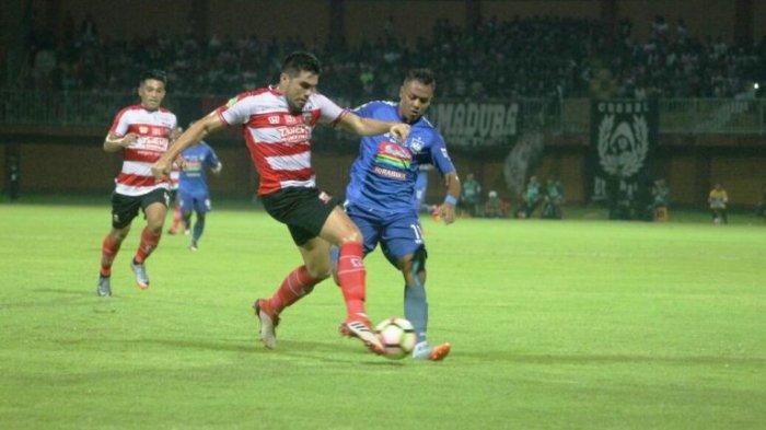 Live Streaming Madura United Vs Barito Putra, Laga Sengit Hari Ini Pukul 18.30 WIB