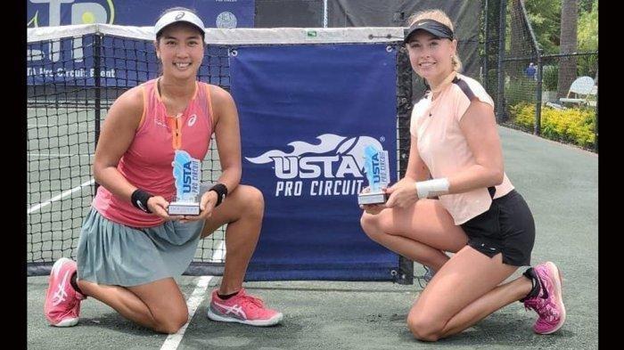 Petenis Putri Indonesia Aldila Gagal Raih Juara LTP Women's Open Charleston