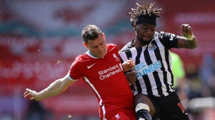 Hasil Liga Inggris Liverpool Vs Newcastle United, The Reds Batal Menang gara-gara Gol di Injury Time