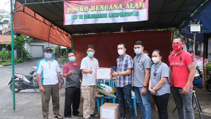 AllStay Hotel Semarang Beri Bantuan Korban Bencana Longsor di Lempongsari Semarang