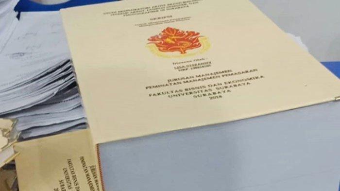 Viral Mahasiswi di Surabaya Bikin Skripsi Setebal 1.150 Halaman, Ini Motivasinya