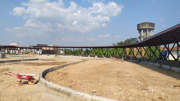 Proyek Alun-alun Timur Pati Selesai Akhir Tahun 2021: Untuk Menampung PKL Lama