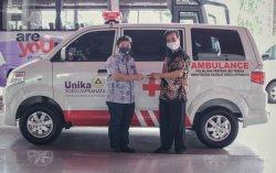Klinik Pratama BPJS Ibu Teresa Unika Kini Dilengkapi Mobil Ambulance