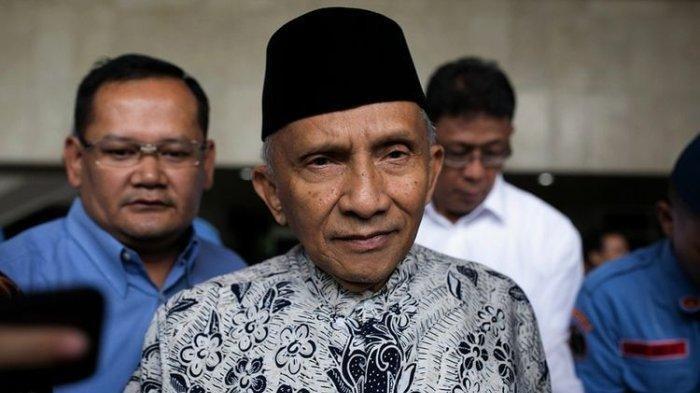 Sampaikan Kritik Tajam, Amien Rais Sebut di Era Jokowi Jalankan Politik Belah Bambu