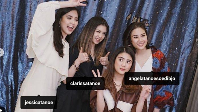 Angela Herliani Tanoesoedibjo, Valencia Tanoesoedibjo, Jessica Herliani Tanoesoedibjo, Clarissa Herliani Tanoesoedibjo