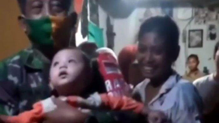 Daffa Bayi 9 Bulan Anak Anggota TNI Diculik Pengasuhnya, Berakhir Seperti Ini