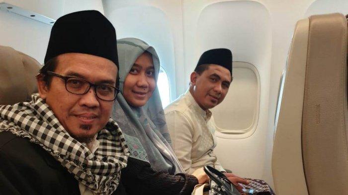 Anak dan Menantu Mbah Moen Terbang ke Makkah, Totalnya Ada Lima Orang
