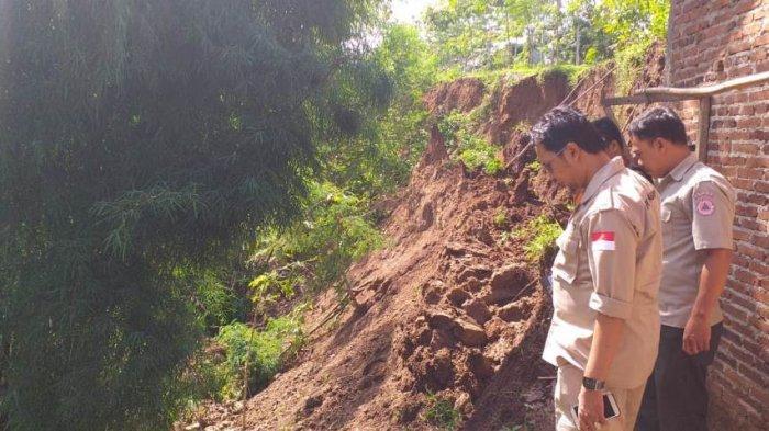 Ruko Milik Desa Botok Karanganyar Kian Mengkhawatirkan, Terus Tergerus Aliran Sungai Sabrang