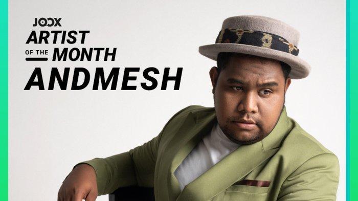 Andmesh Terpilih Sebagai Joox Artist of the Month Bulan September 2021