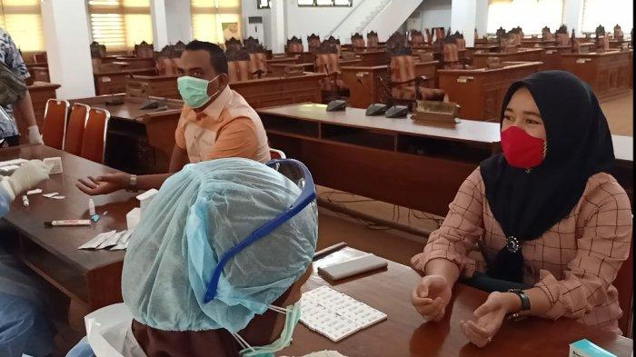 Anggota DPRD Kabupaten Pekalongan Setuju Diadakannya Rapid Test: Plong Rasanya