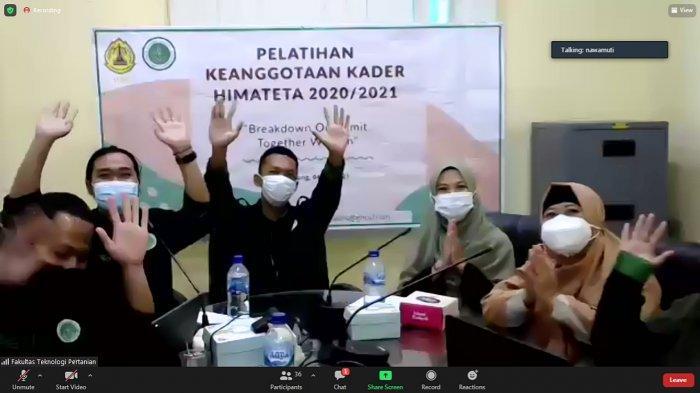 Himateta USM Semarang Gelar Webinar Pelatihan Keanggotaan