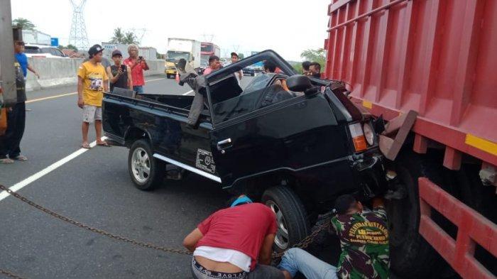 Kronologi Lengkap Kecelakaan Maut Pikap di Tol Pemalang-Batang, Kernet Meninggal: Warga Boyolali
