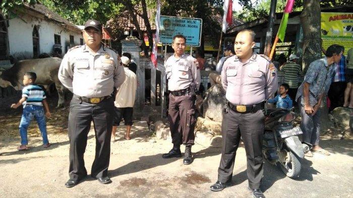 Polisi Kawal Ketat Pelaksanaan Salat Idul Adha dan Pembagian Daging Kurban, Situasi Blora Kondusif
