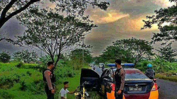 Pembalap Liar di di Jalan Lingkar Barat Kudus Kocar-kacir Saat Polisi Datang: Teman Ditinggal Kabur