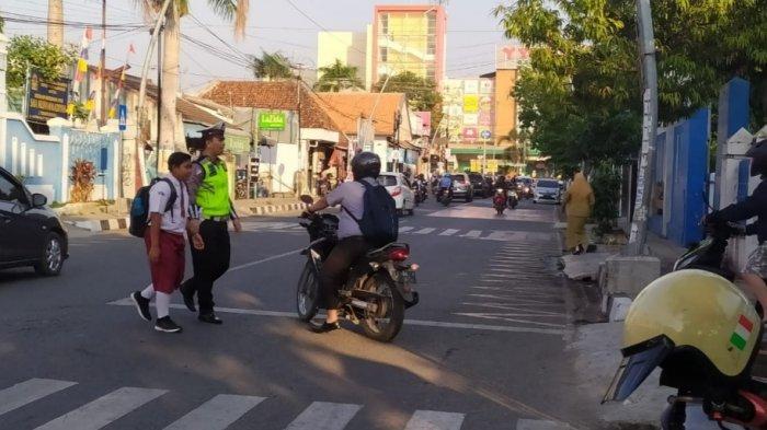 Jamin Kemanan Masyarakat, Ini Aktivitas Rutin Personel Polres Tegal Kota Tiap Pagi