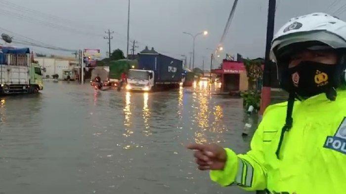 Hujan Deras Landa Semarang Pagi Tadi, Ketinggian Air Kaligawe Naik 10 Sentimeter