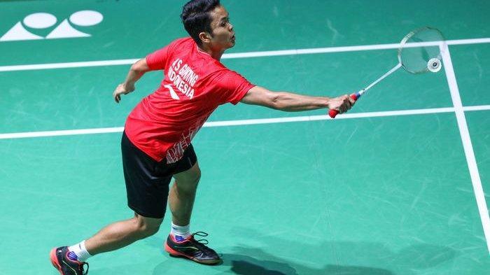 Babak 16 Besar Badminton Olimpiade Tokyo, Anthony Ginting Vs Kanta Tsuneyama