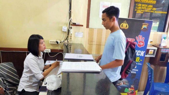 Pelayanan SKCK di Polres Blora Dihentikan untukAntisipasi Penyebaran Virus Corona