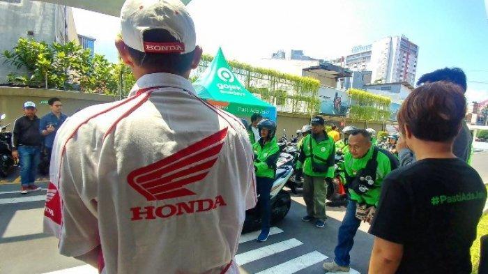 Driver Gojek Dapat DIskon Layanan Servis dan Suku Cadang di Astra Motor Jawa Tengah