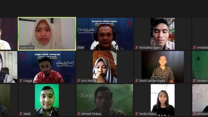 Prodi Bisnis Digital Universitas Ivet Semarang Gelar Webinar Kewirausahaan