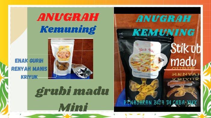 Anugrah Kemuning Produsen Olahan Ubi Camilan Sehat