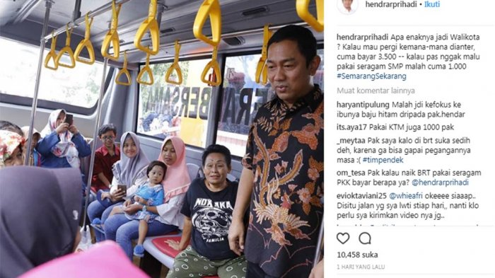 Apa Enaknya Jadi Walikota? Jawaban Hendi Dibanjiri Komentar Netizen