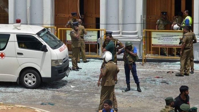 Polisi Sri Lanka Sudah Tahu AdaRencana Peledakan Gereja Sejak 10 Hari Lalu