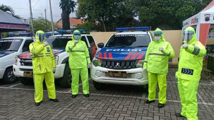 Ke TKP Kecelakaan, Petugas Unit Laka Satlantas Polrestabes Semarang Wajib Pakai APD Khusus