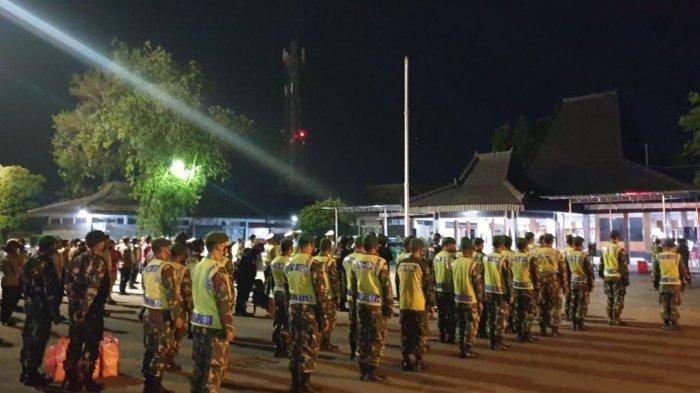 Tim Gabungan Ikuti Apel Kesiapan Pengamanan Malam Takbir 1442 Hijriyah di Wonogiri