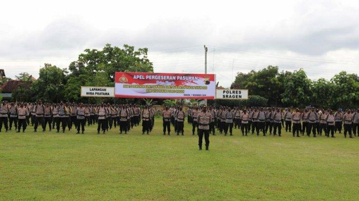 Polres Sragen Terjunkan 478 Personil Guna Pengamanan Pilkada