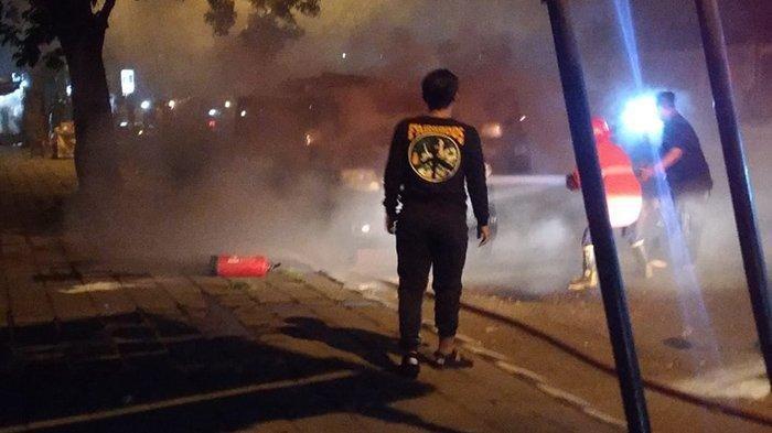 Mobil Meledak Lalu Terbakar di Solo, Satu Keluarga Asal Bali Berhasil Selamatkan Diri