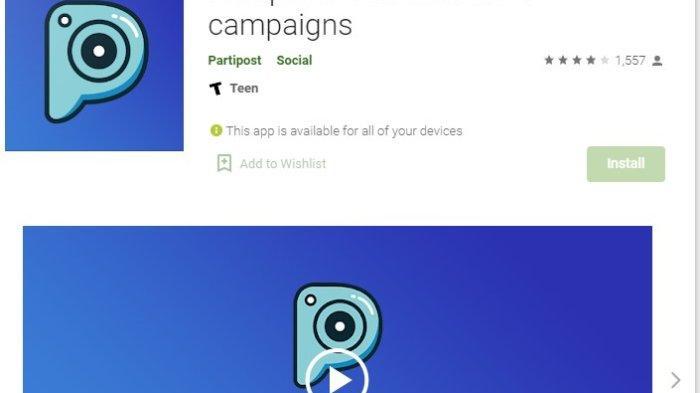 Cara Mendapatkan Cuan dari Aplikasi Penghasil Uang Partipost dengan Jadi Endorser