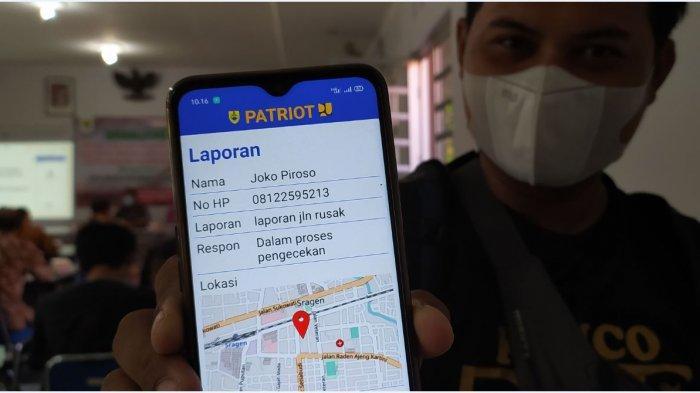 Laporkan Jalan Rusak di Sragen Kini Bisa Lewat Aplikasi Patriot