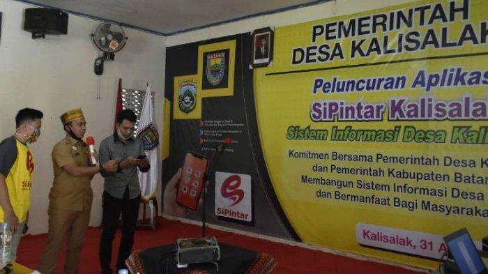 Launching Aplikasi Sipintar, Desa Kalisalak Batang Jadi Percontohan Inovasi Pelayanan Masyarakat
