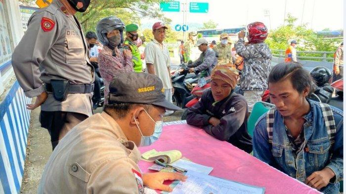 76 Orang Terjaring Operasi Yustisi, Salah Satunya Rombongan Odong-odong