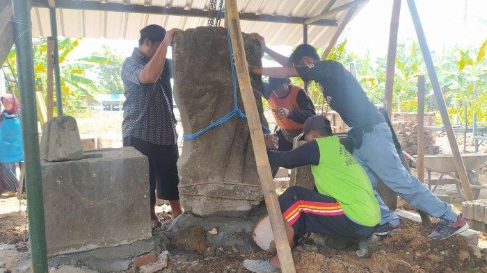 Arca dan Yopi di Pasar Bunder Terbengkalai, Kodim 0725/Sragen Lakukan Pembugaran