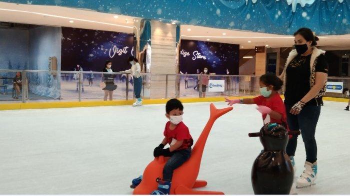 Tentrem Mall Berikan Harga Baru untuk Bermain Ice Skating